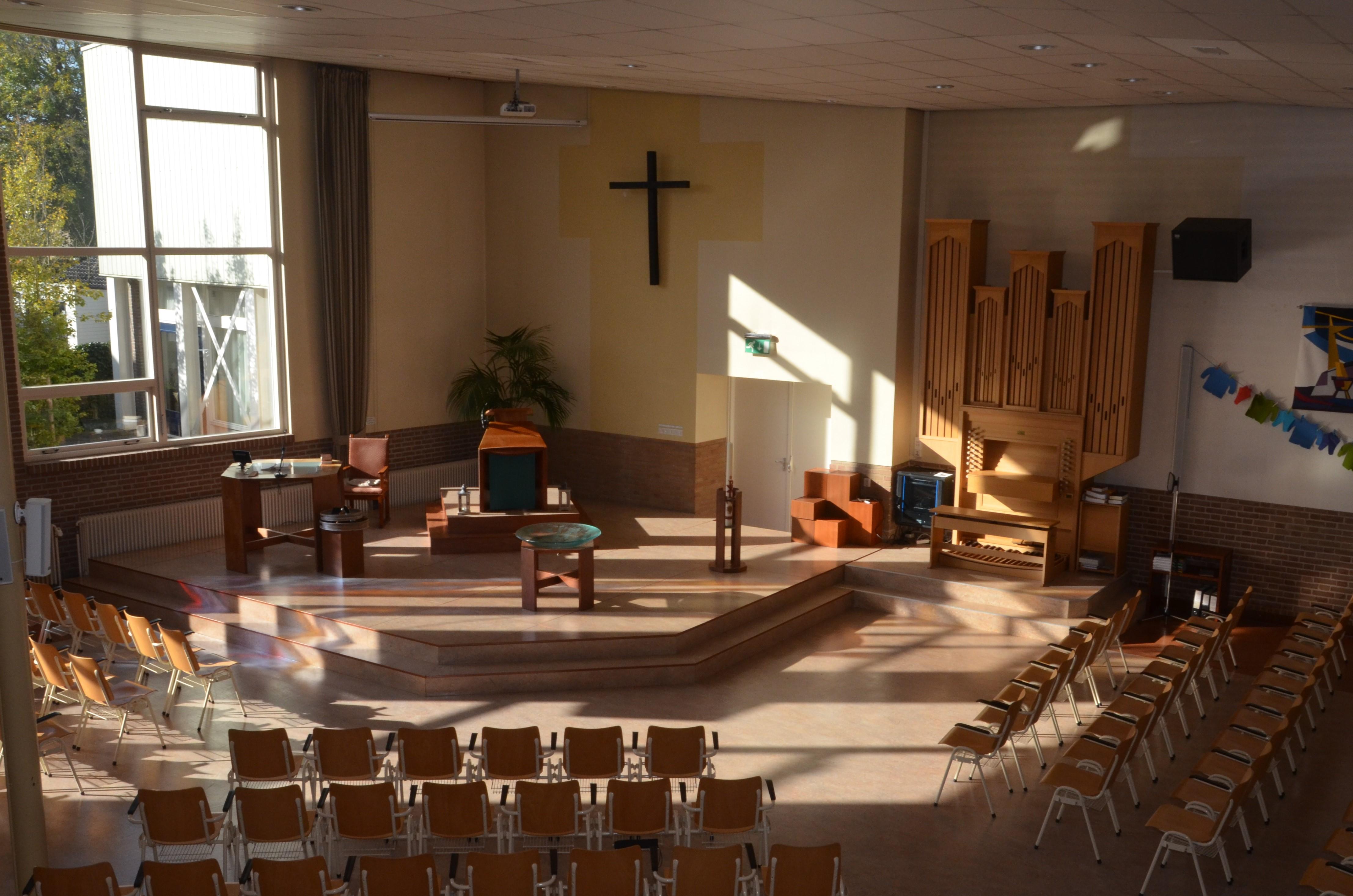 kerkzaal Maranathakerk