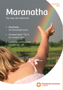 cover kerkblad Maranatha-sep21
